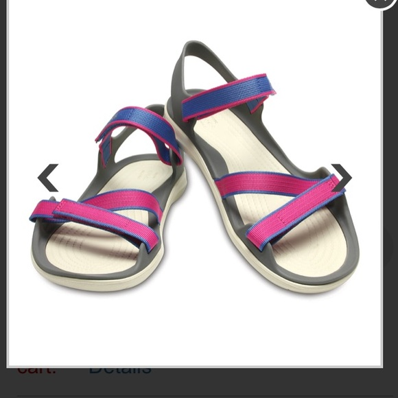 b17e97b66ddf CROCS Shoes - Croc s Women s Swiftwater Webbing Sandal size 7